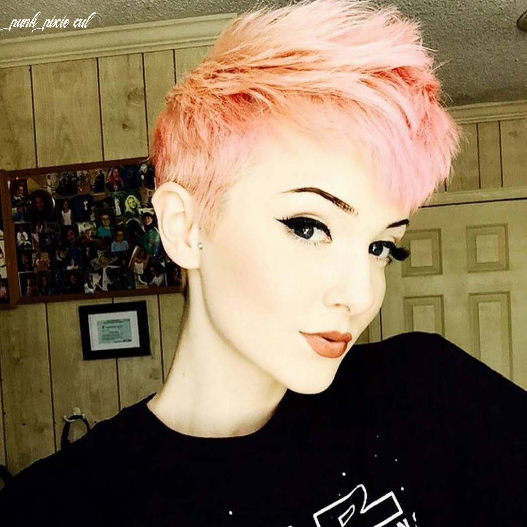 Pin by corri on hair | light pink hair, pastel pixie hair, short