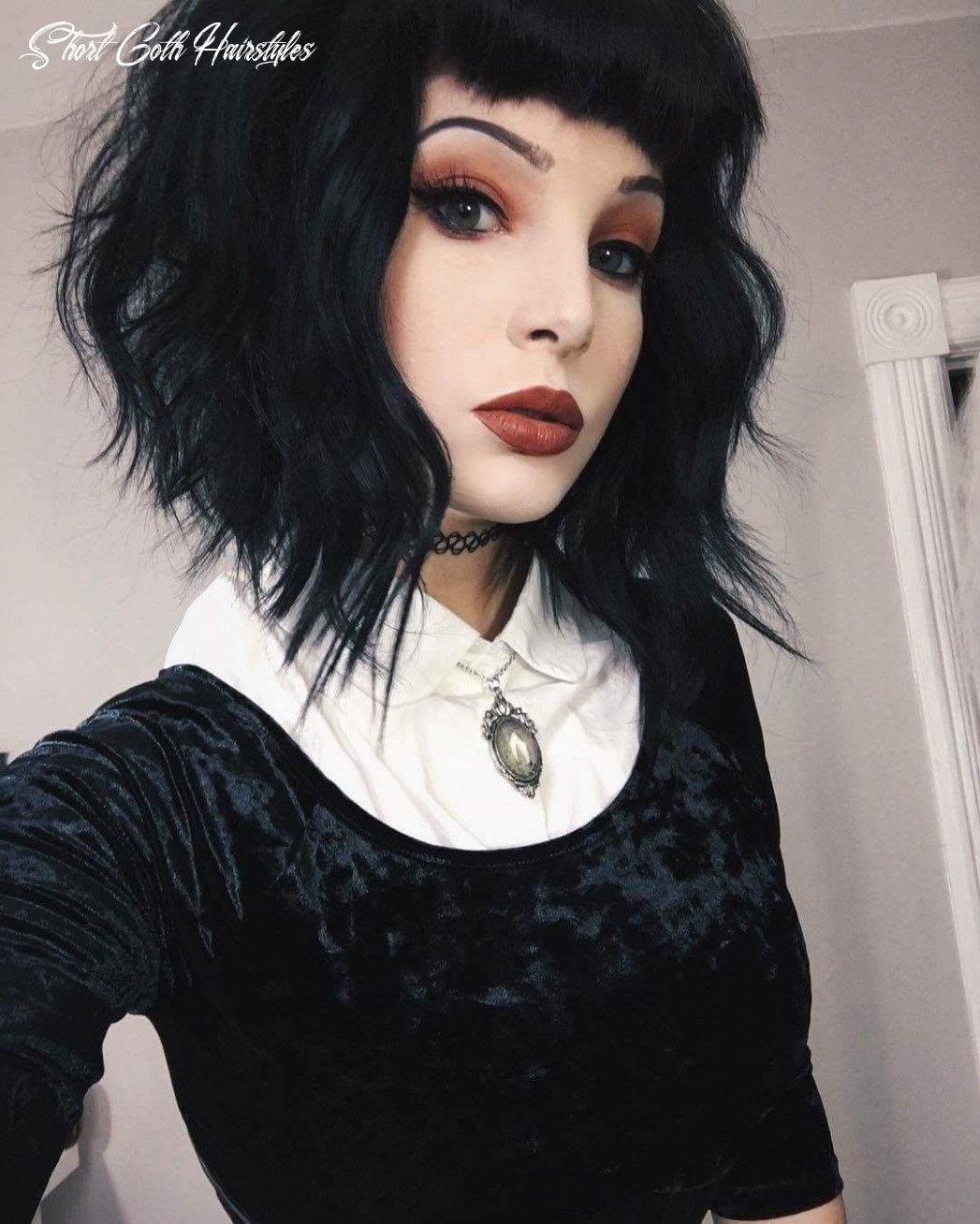Pin by erin dowell on hair | gothic hairstyles, goth hair, pixie