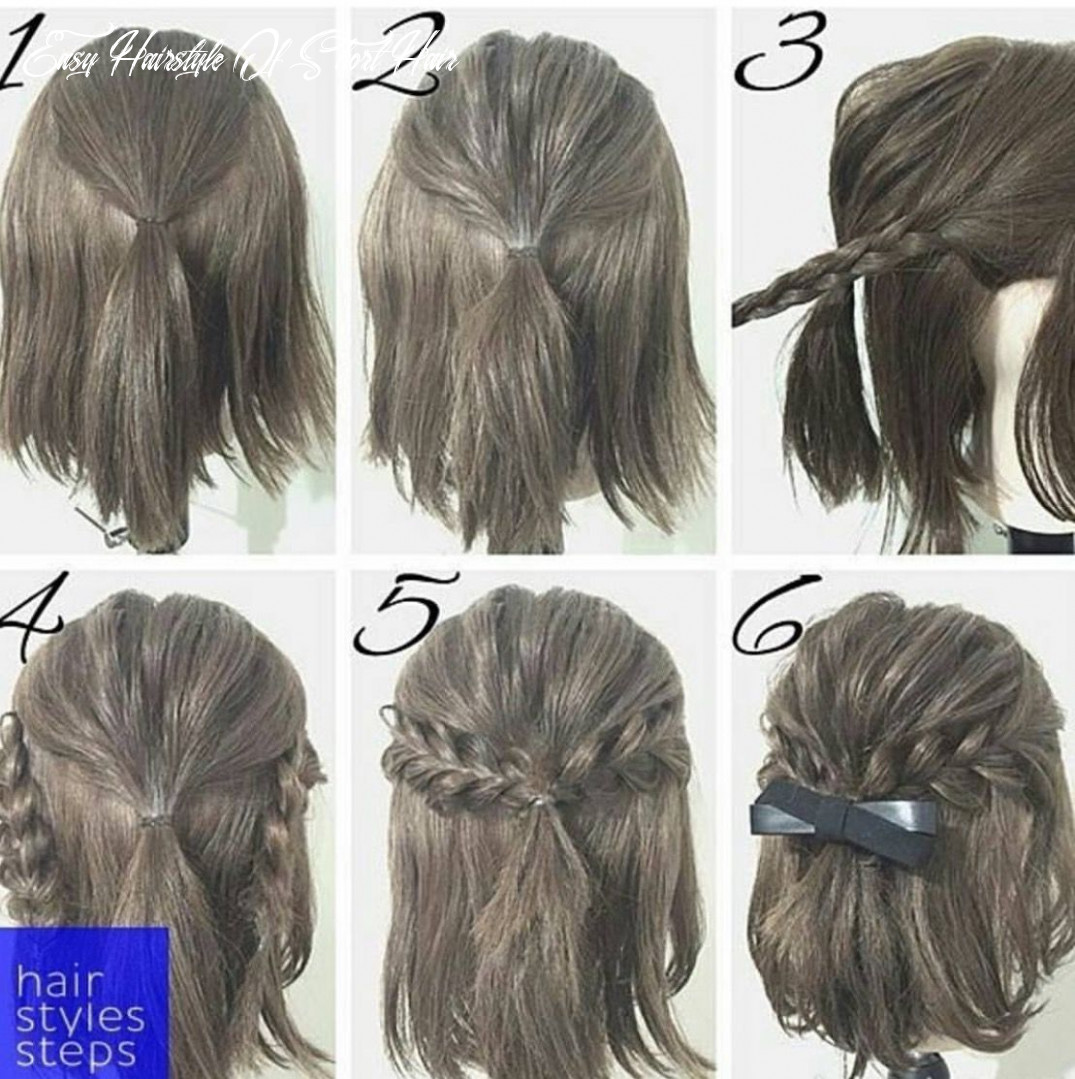 Pin by Fatima on Hairstyle Tutorials | Short hair styles, Simple ...