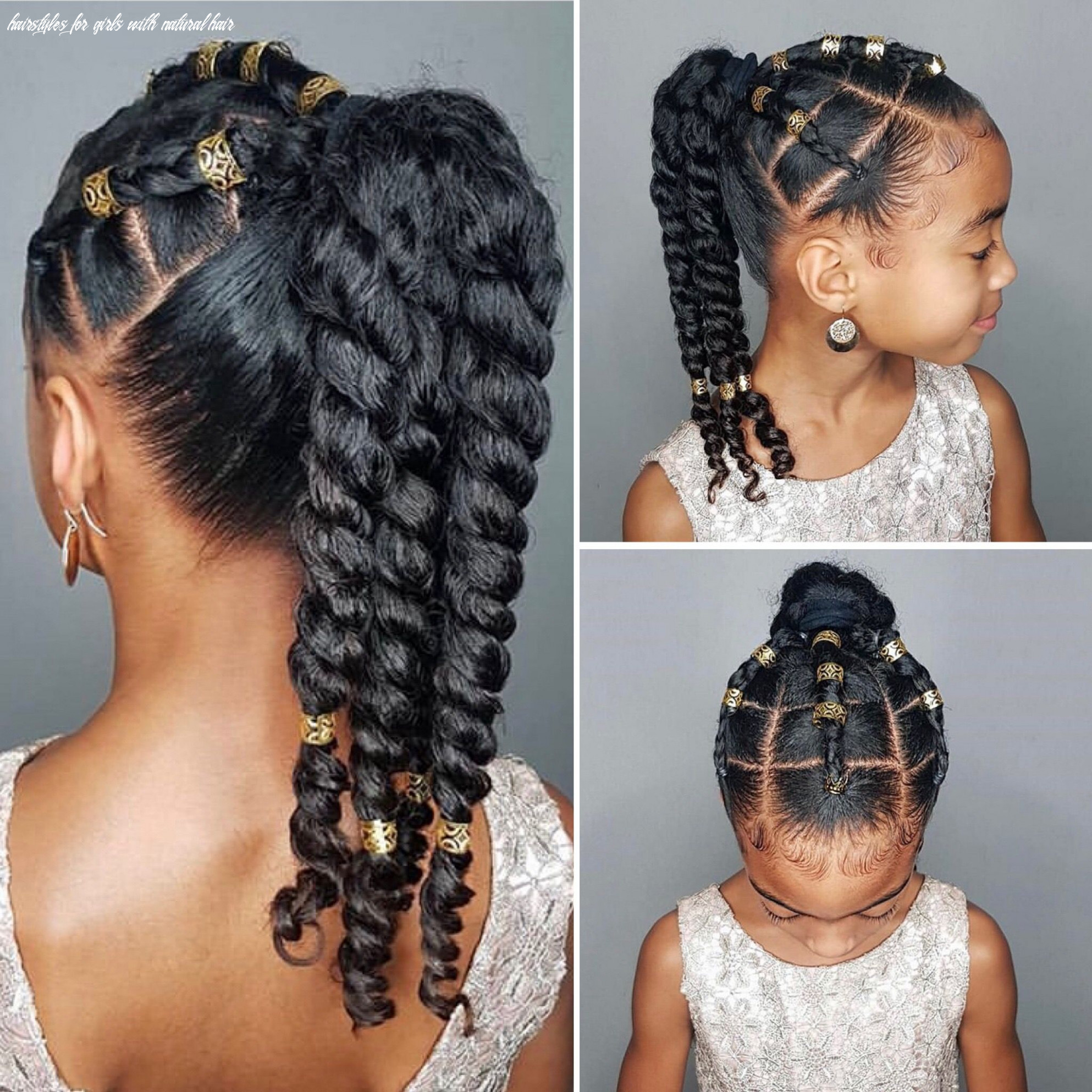 Pin by indy11k on kids braids | girls natural hairstyles, natural