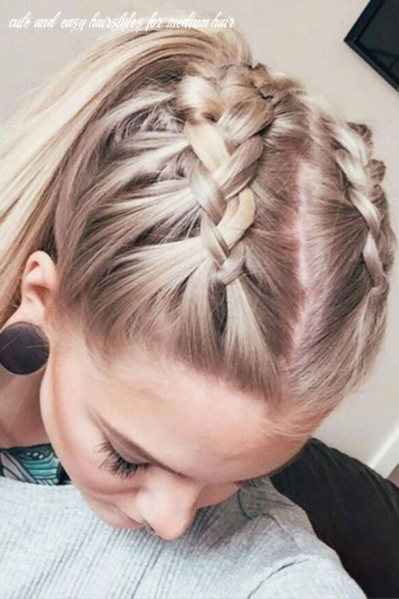 Pin by jessica on hair in 8   cute hairstyles for medium hair