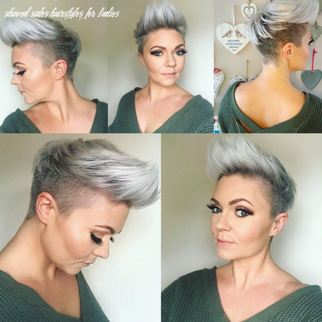 Pin by joy diamond on projects to try | short hair shaved sides