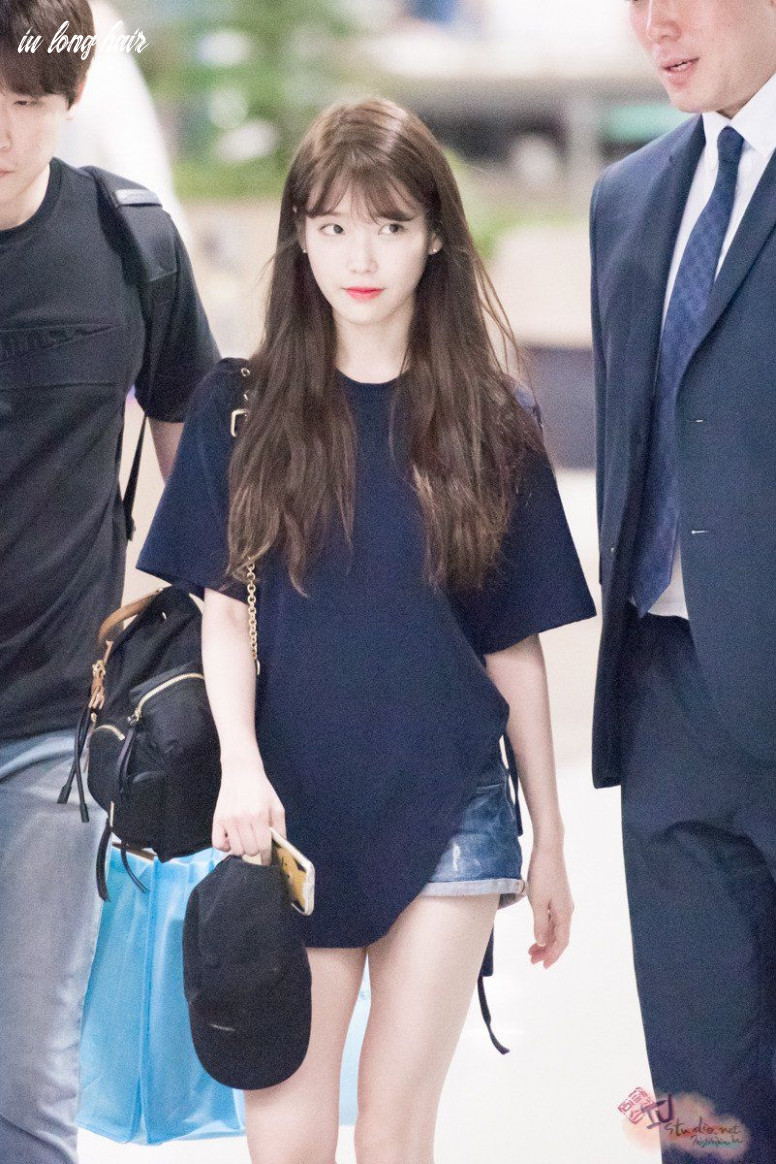 Pin by lit on iu | how to style bangs, korean bangs hairstyle