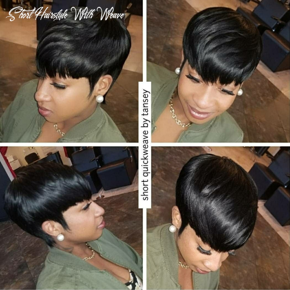 Pin by neitia clarke on short hair styles | quick weave hairstyles