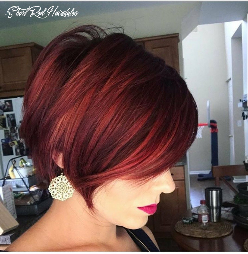 Pin by Niki on Fabulous Bobs and Hairstyles | Short red hair, Thin ...