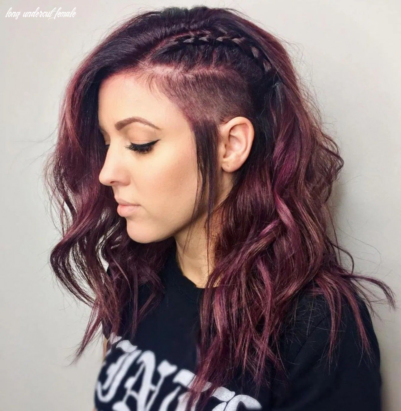 Pin by sami b on hairstyles, partly shaved | undercut long hair