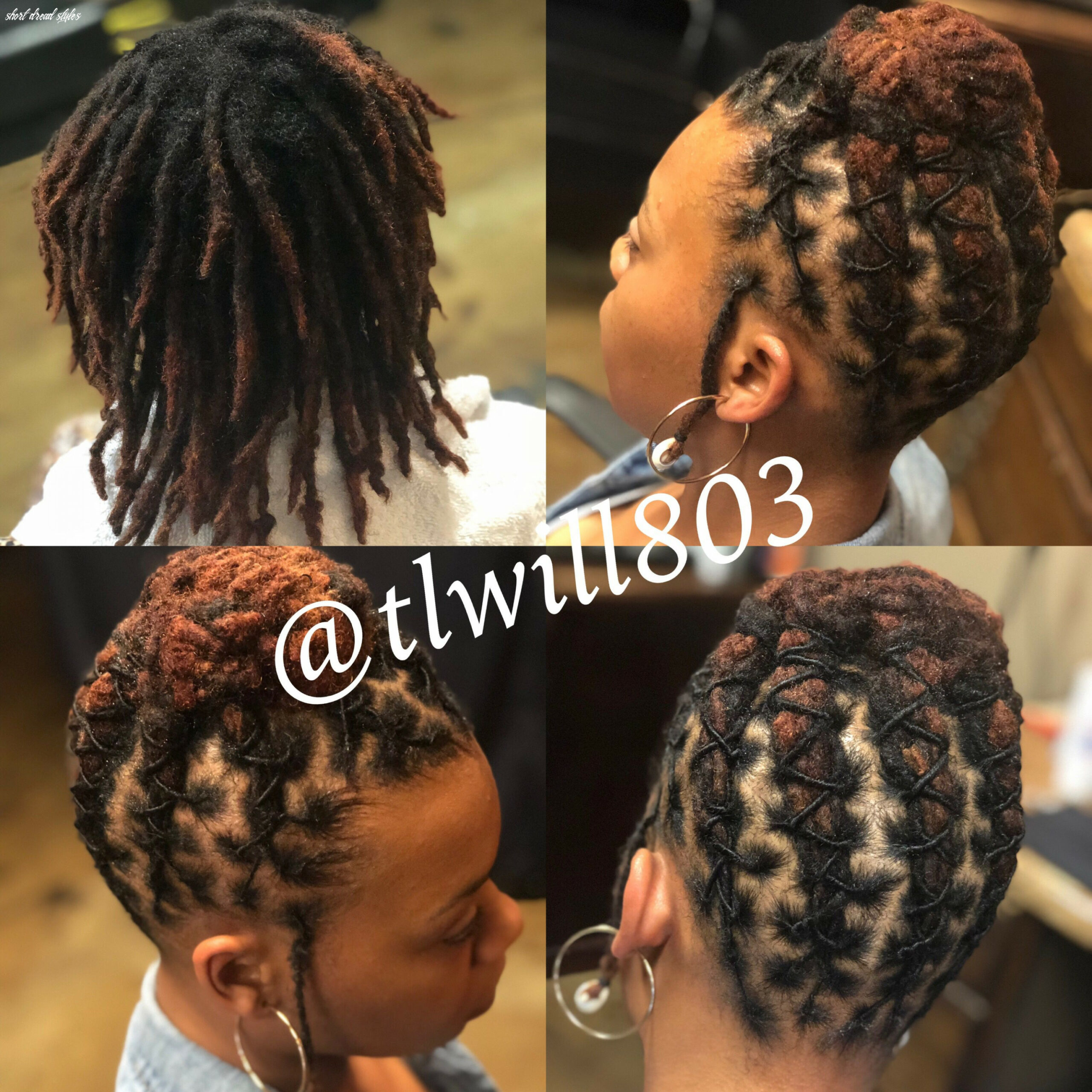 Pin by sarnell breedlove on dreadlock hairstyles in 9 | short