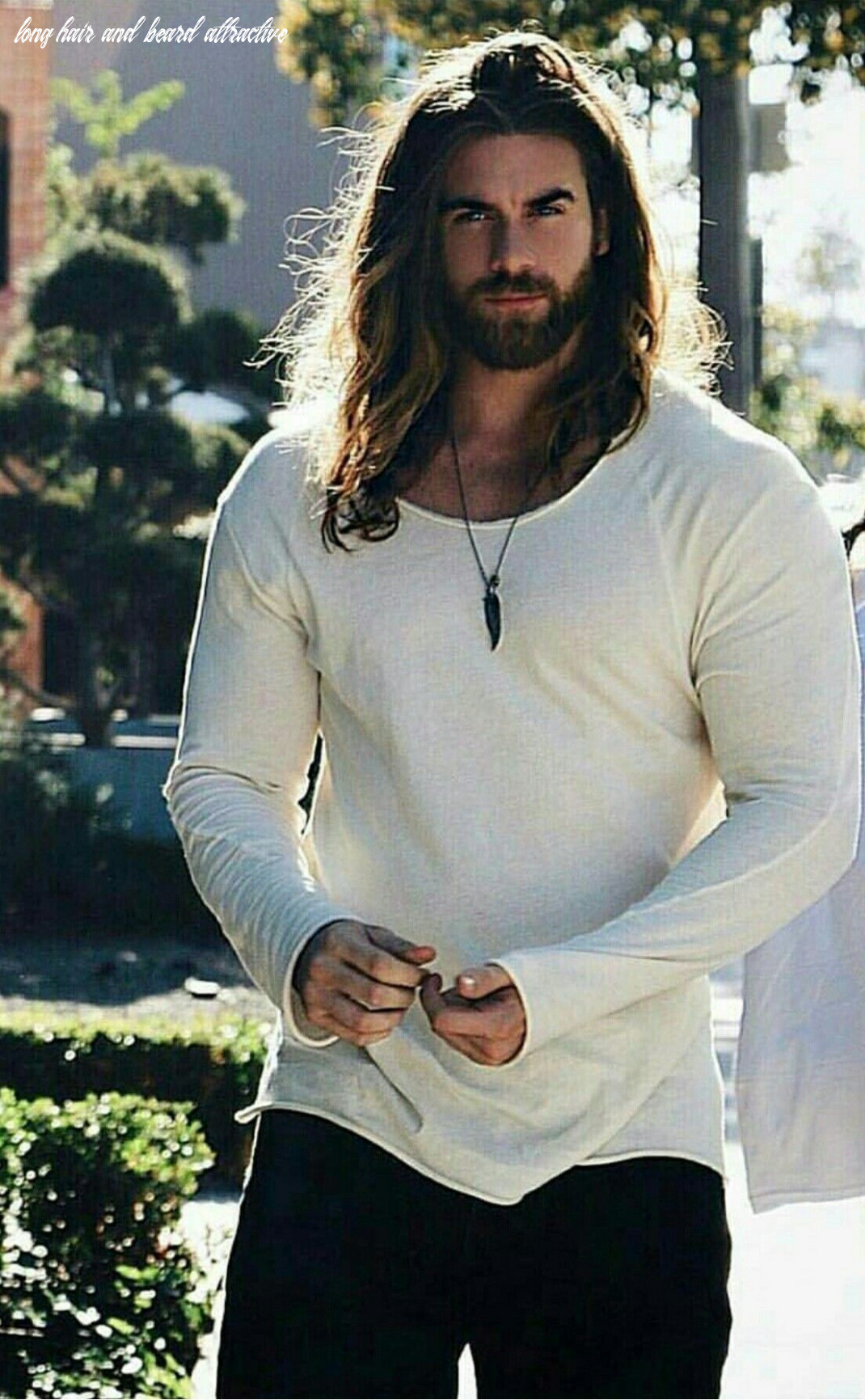 Pin by sparrow on people and references | beautiful men, men, fine men long hair and beard attractive