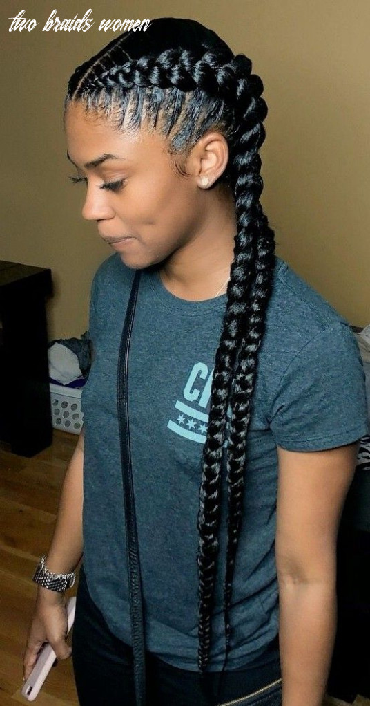 Pin by toni mcqueen on braids | two braid hairstyles, curly hair