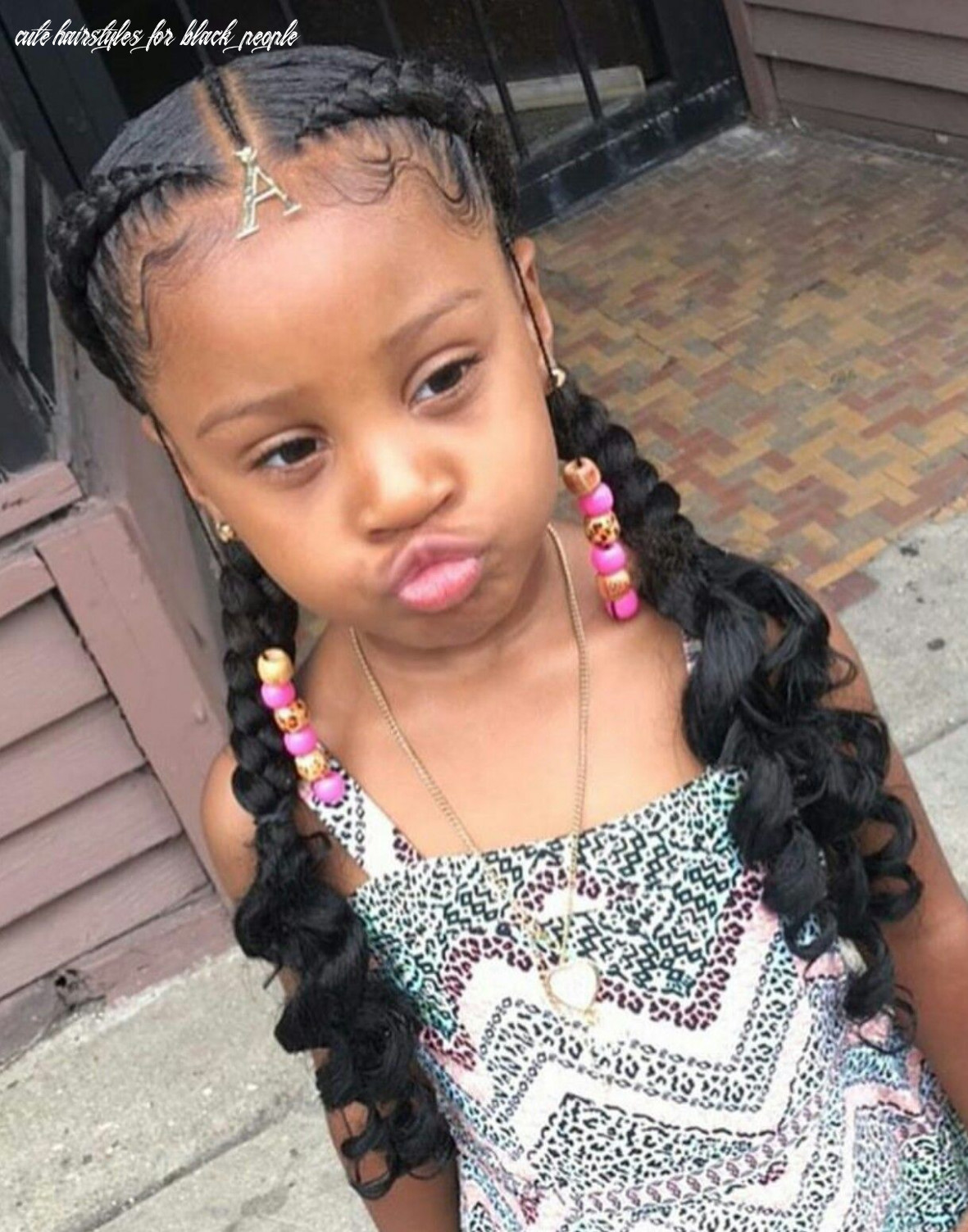 Pin by treniece bynum on hair nails and makeup | black kids