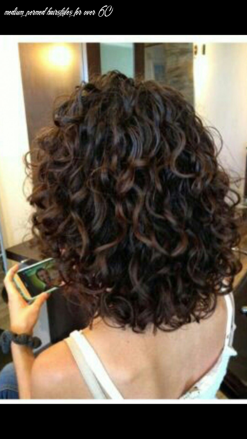 Pin em hair medium permed hairstyles for over 60