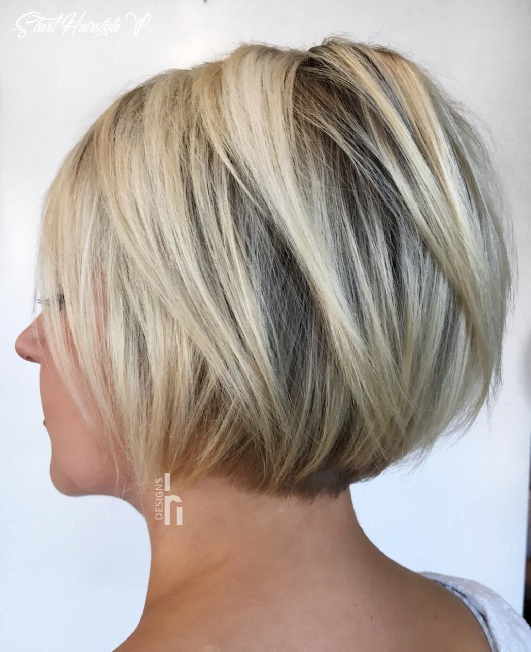 Pin em hair short hairstyle v