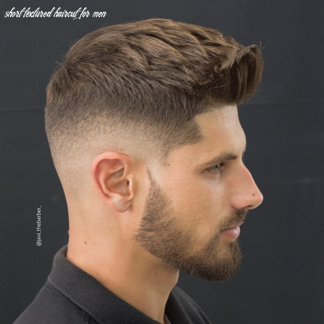 Pin em hair styles short textured haircut for men