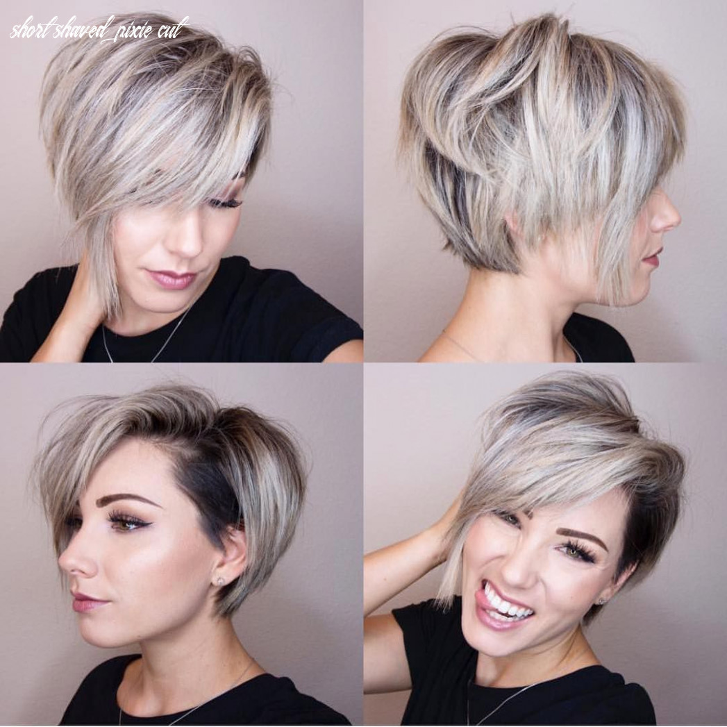 Pin en compare short shaved pixie cut