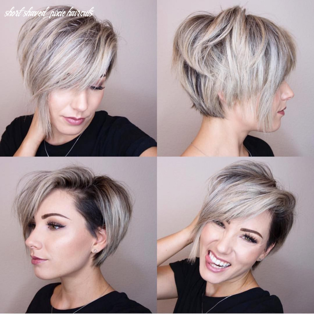 Pin en compare short shaved pixie haircuts