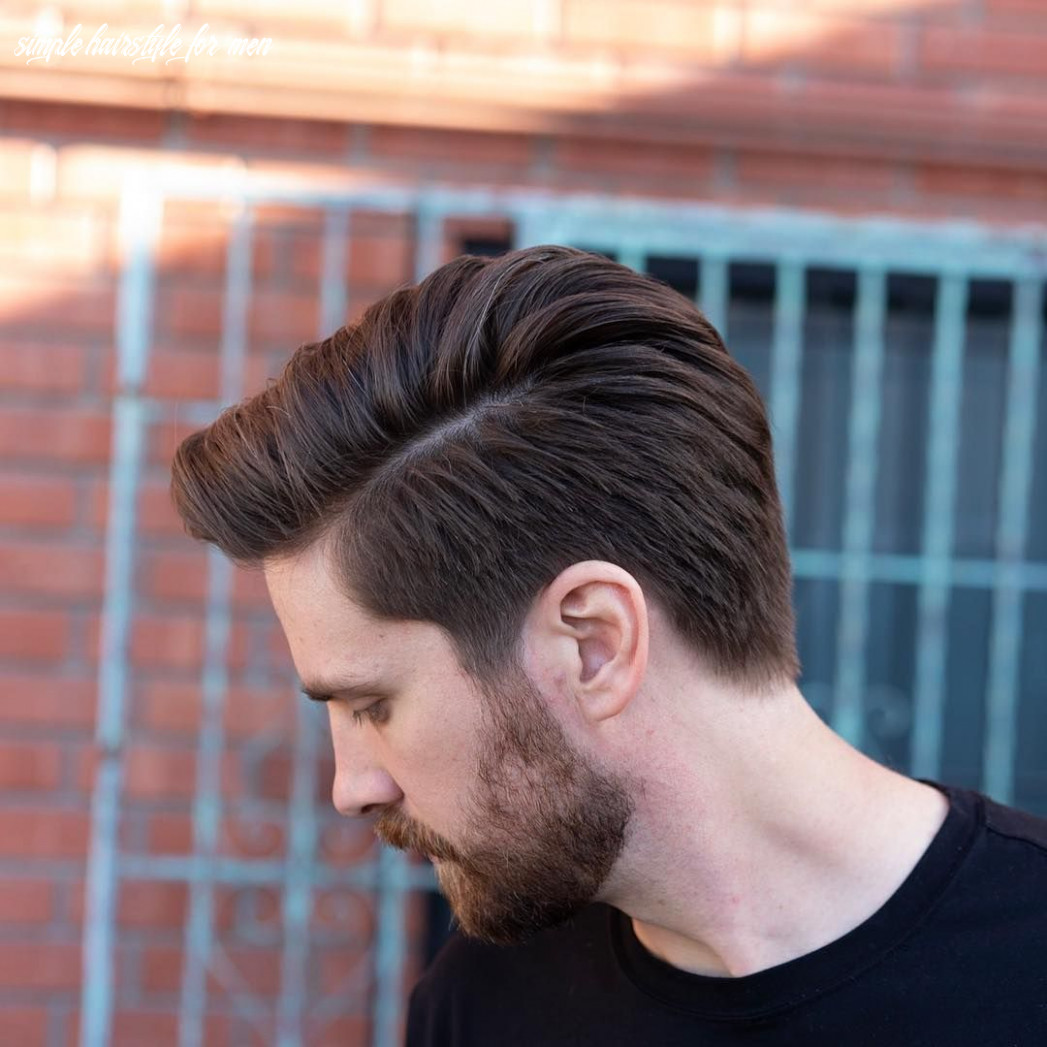 Pin en cool haircuts for men simple hairstyle for men