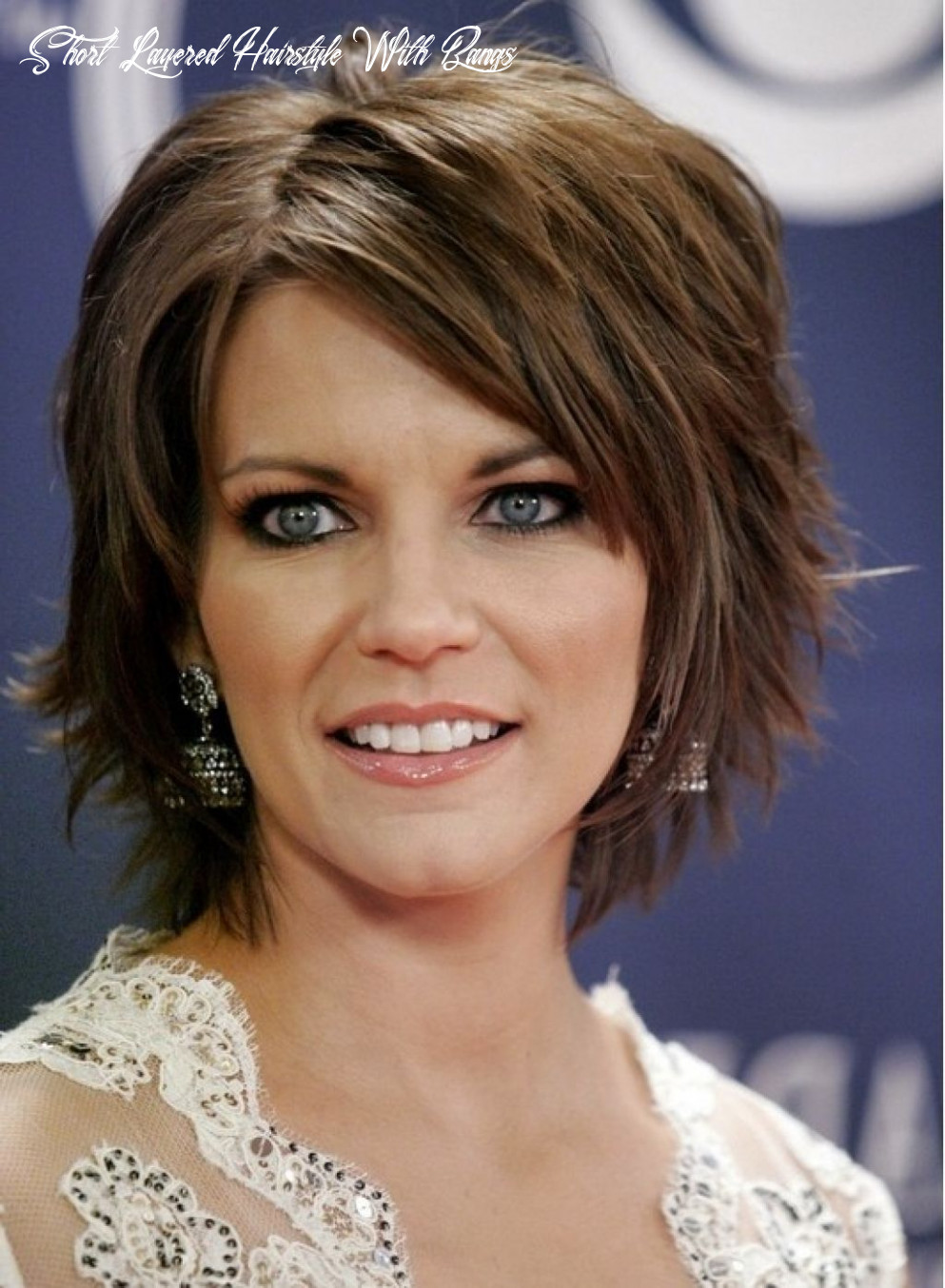 Pin en hair styles short layered hairstyle with bangs