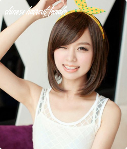 Pin on 12剪髮設計 asian hairstyles w chinese haircut female