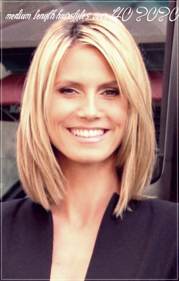 Pin on 8 hair trends medium length hairstyles over 40 2020