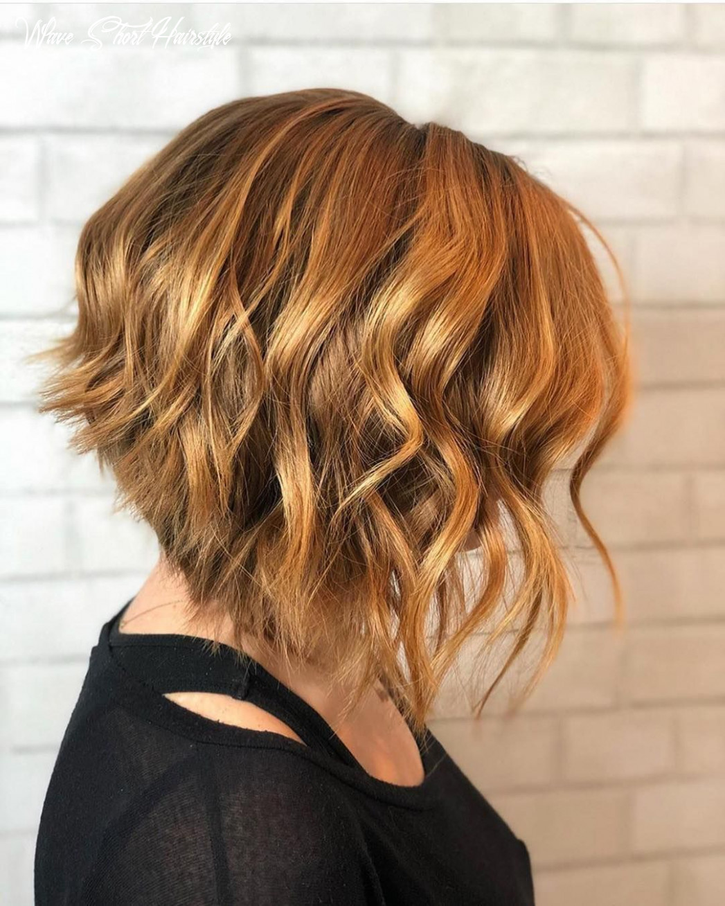 Pin on 9 short hairstyles (handpicked) wave short hairstyle