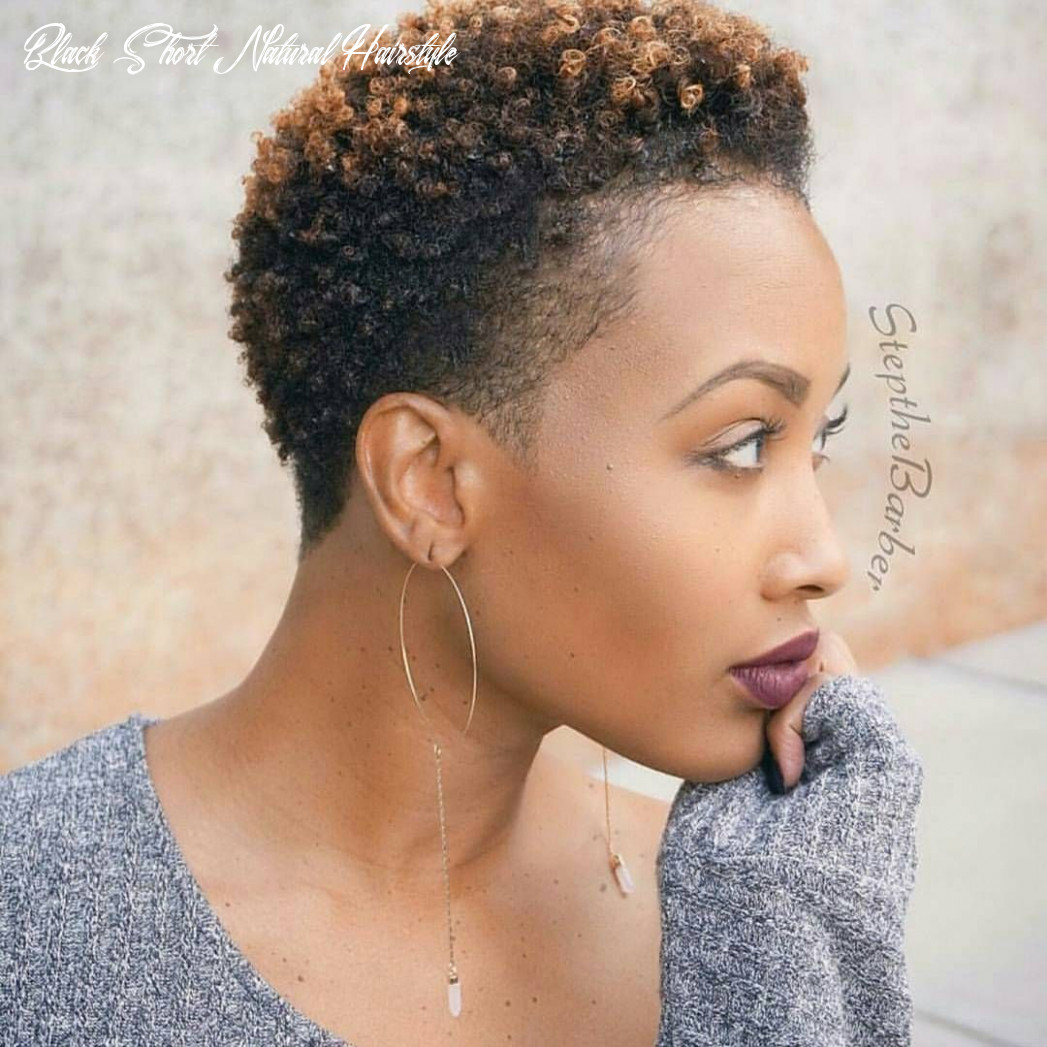 Pin on afro hair black short natural hairstyle