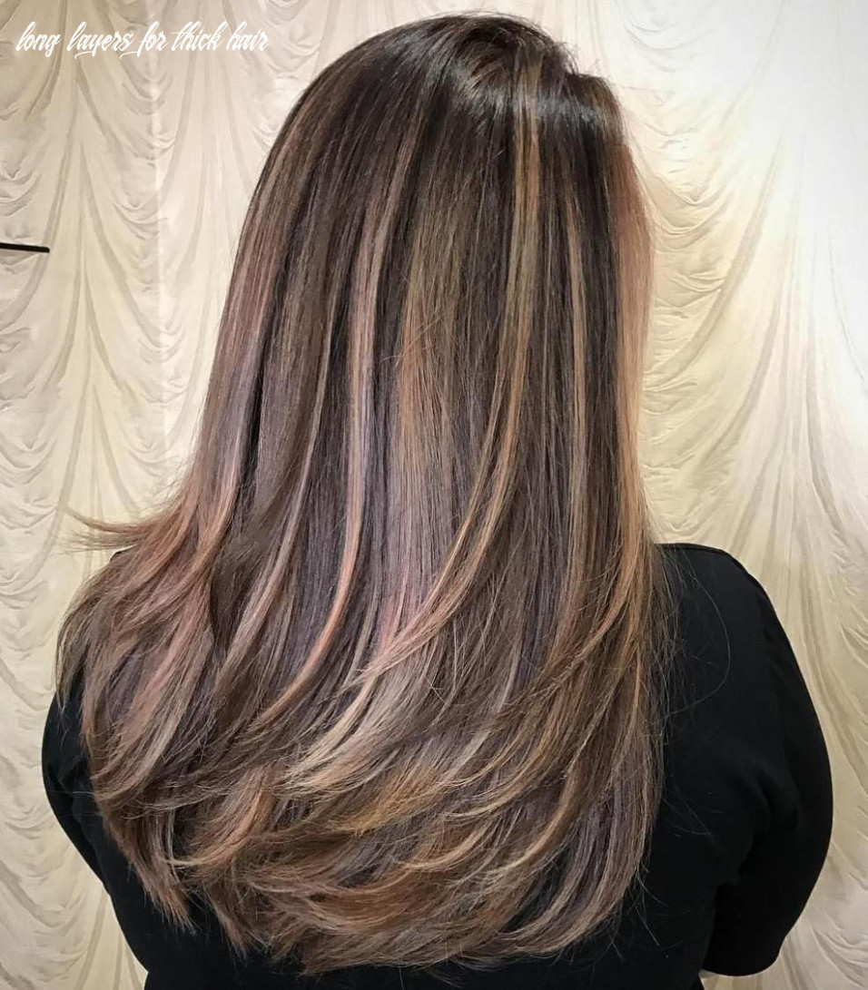 Pin on b e a utiful! long layers for thick hair
