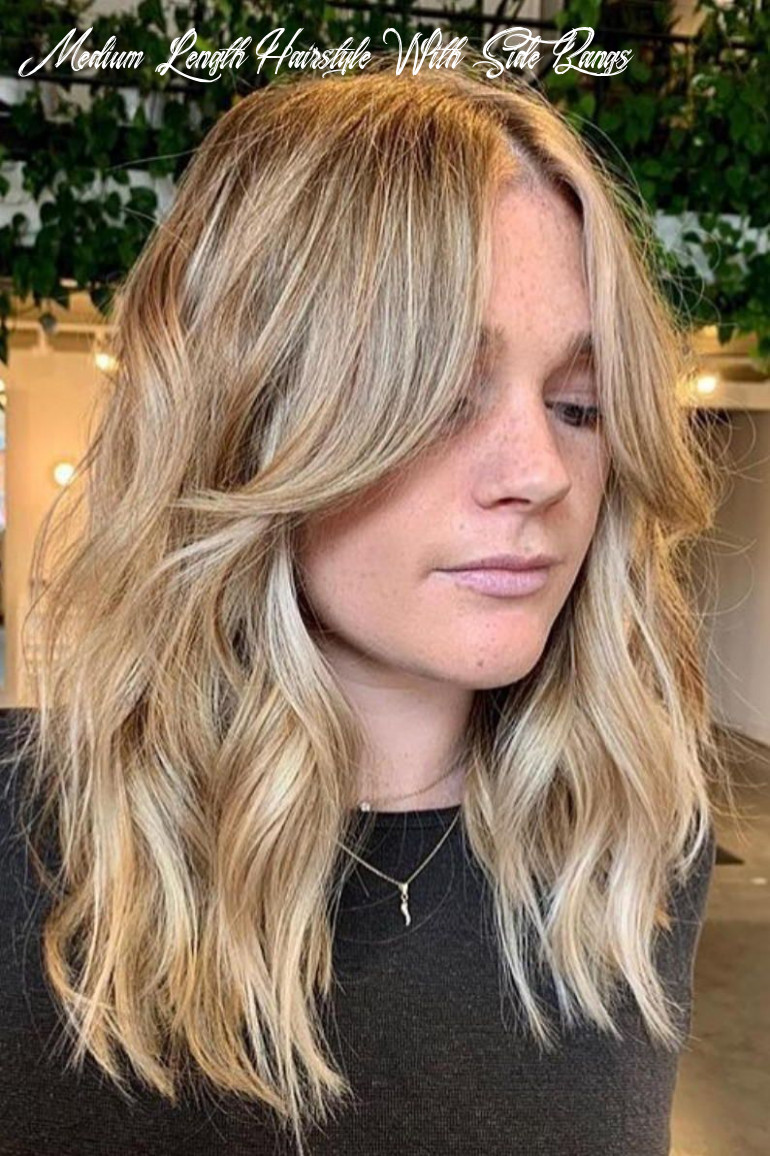Pin on beauty medium length hairstyle with side bangs