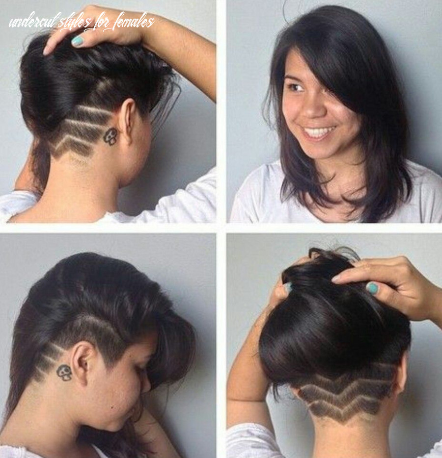 Pin on beauty undercut styles for females