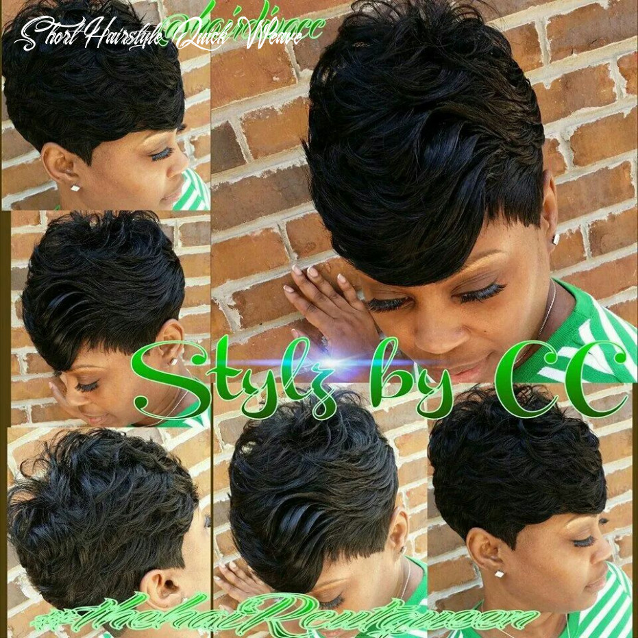 Pin on black women short cuts short hairstyle quick weave