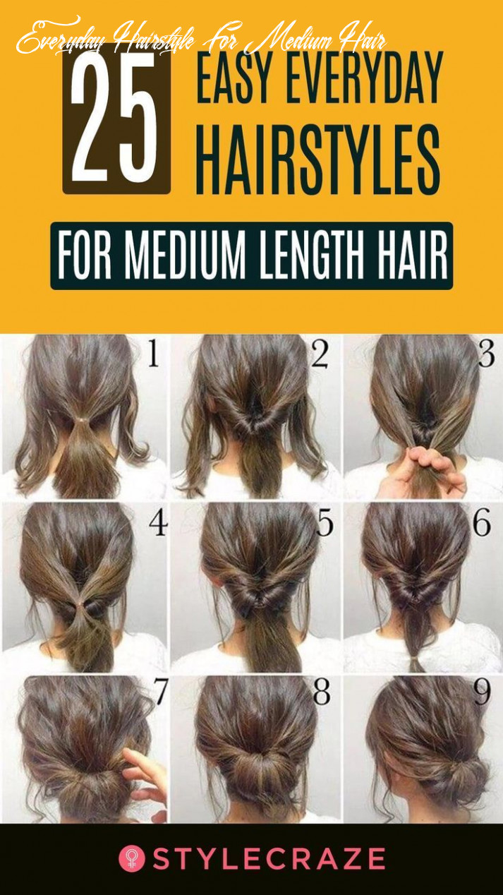 Pin on blog everyday hairstyle for medium hair