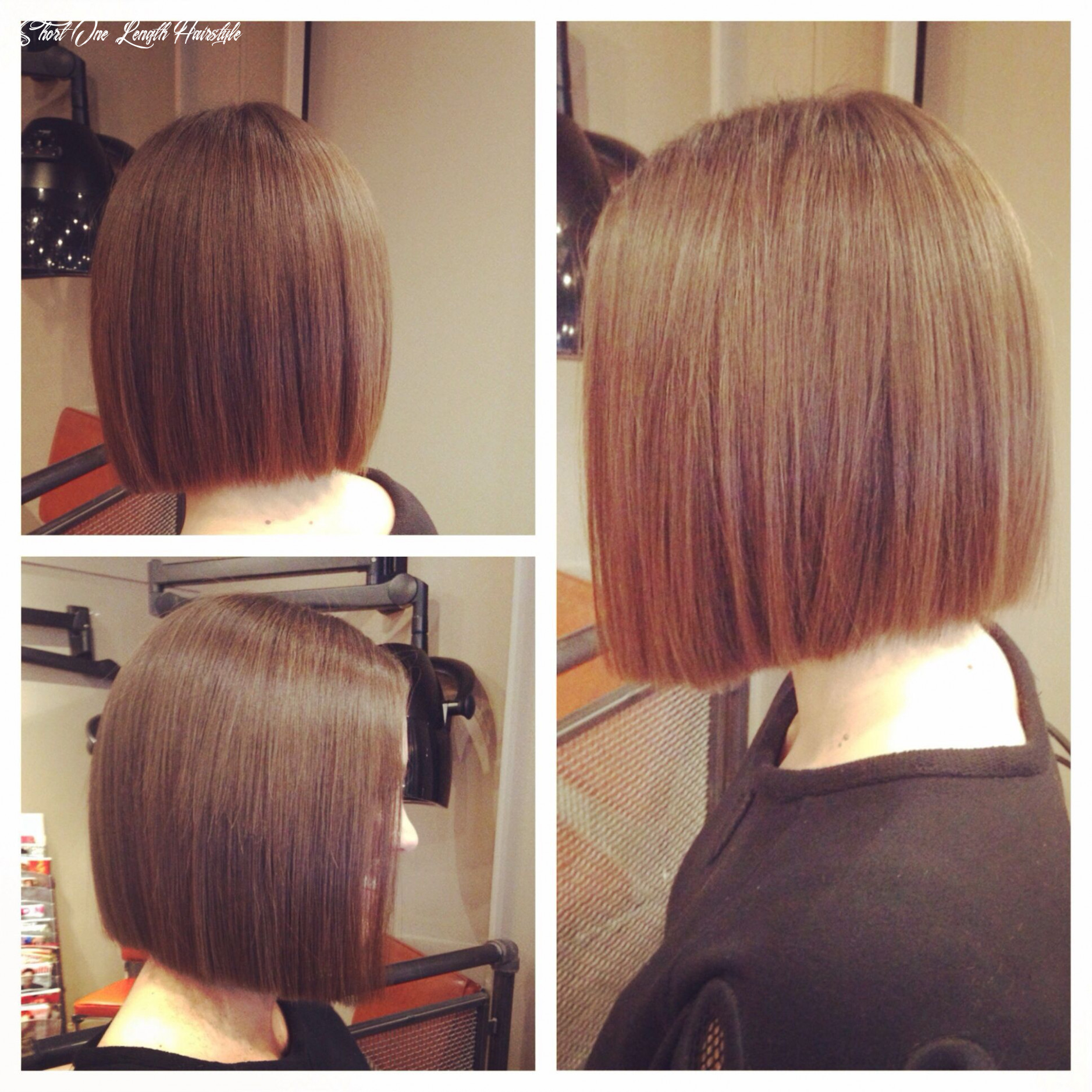 Pin on bob short one length hairstyle