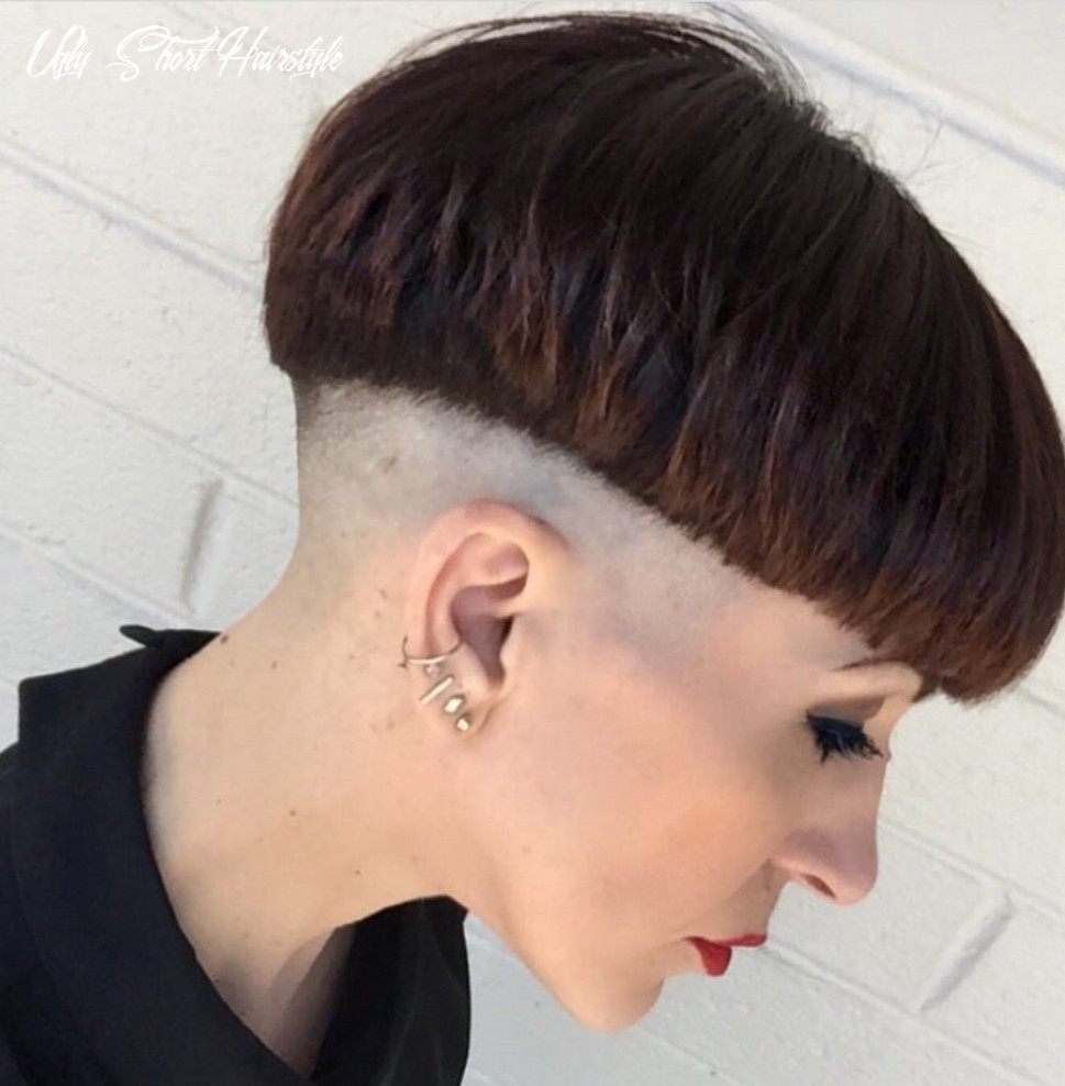 Pin on bowl cuts ugly short hairstyle