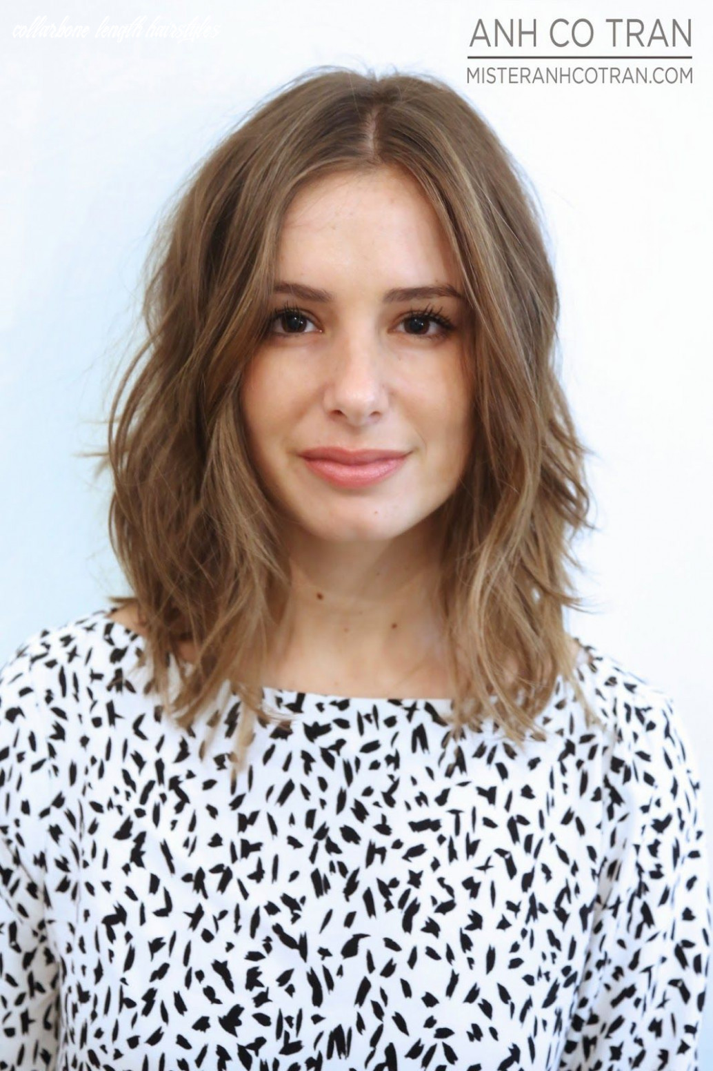 Pin on collar length collarbone length hairstyles