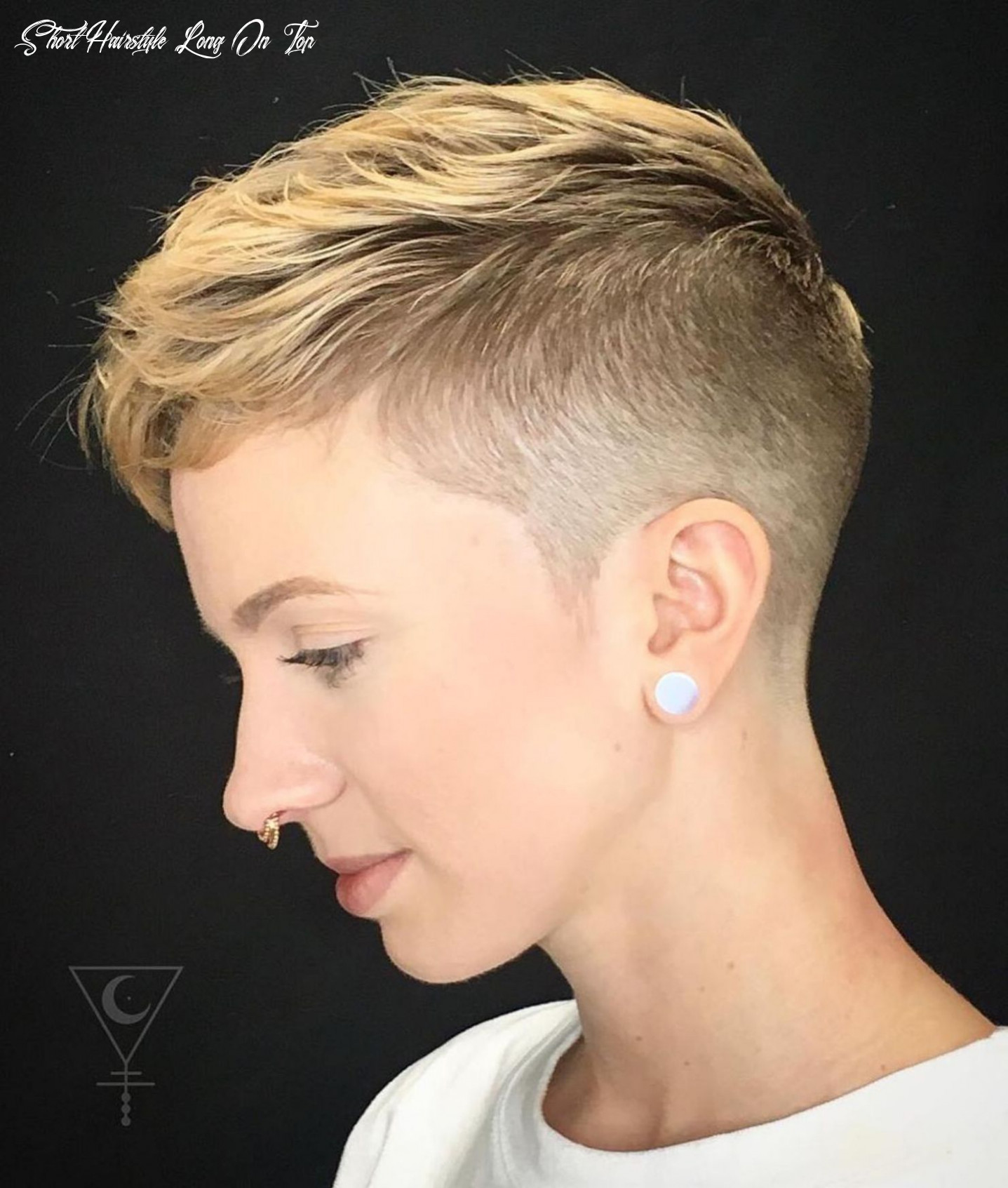 Pin on cool cuts short hairstyle long on top