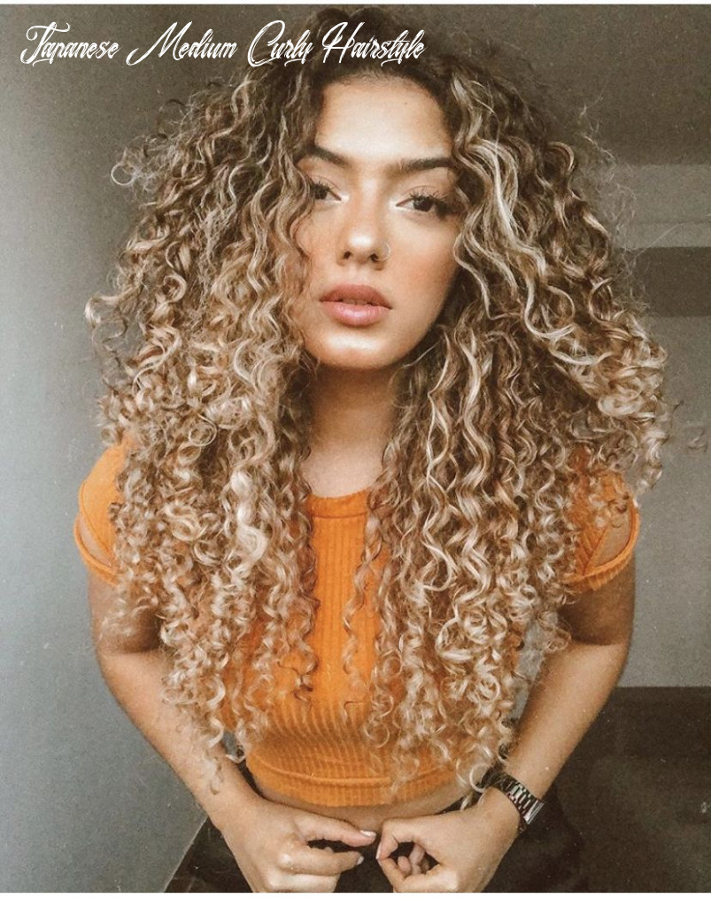 Pin on curly hairstyles japanese medium curly hairstyle