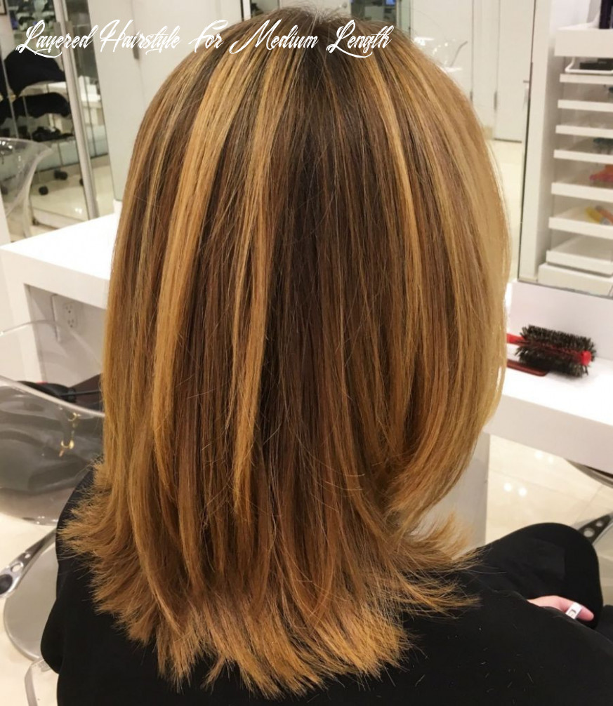 Pin on dec hair layered hairstyle for medium length