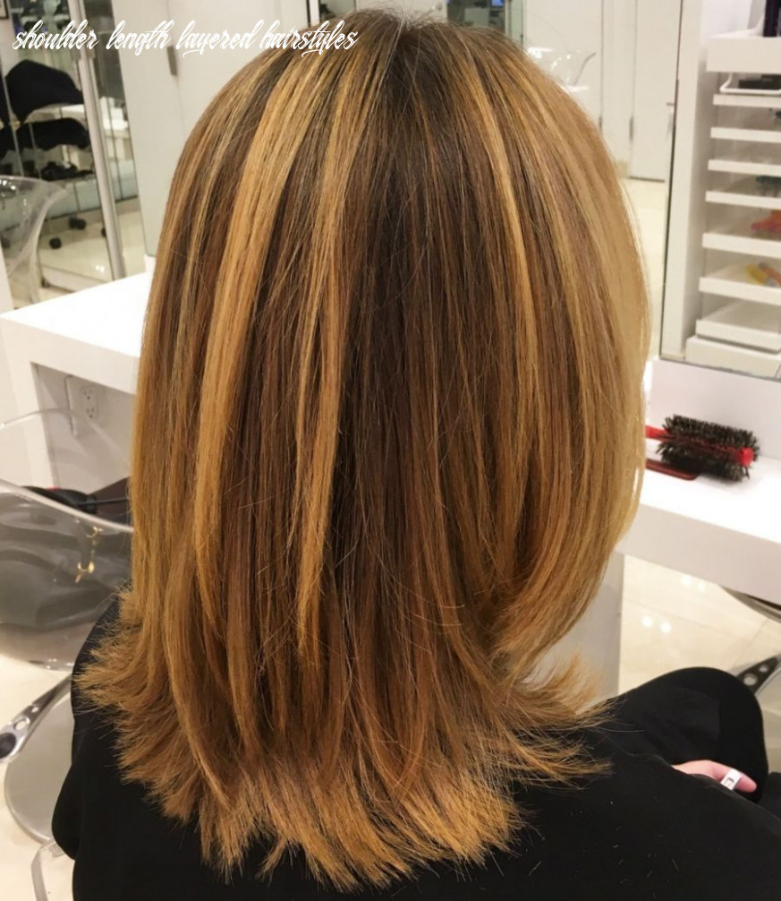 Pin on dec hair shoulder length layered hairstyles