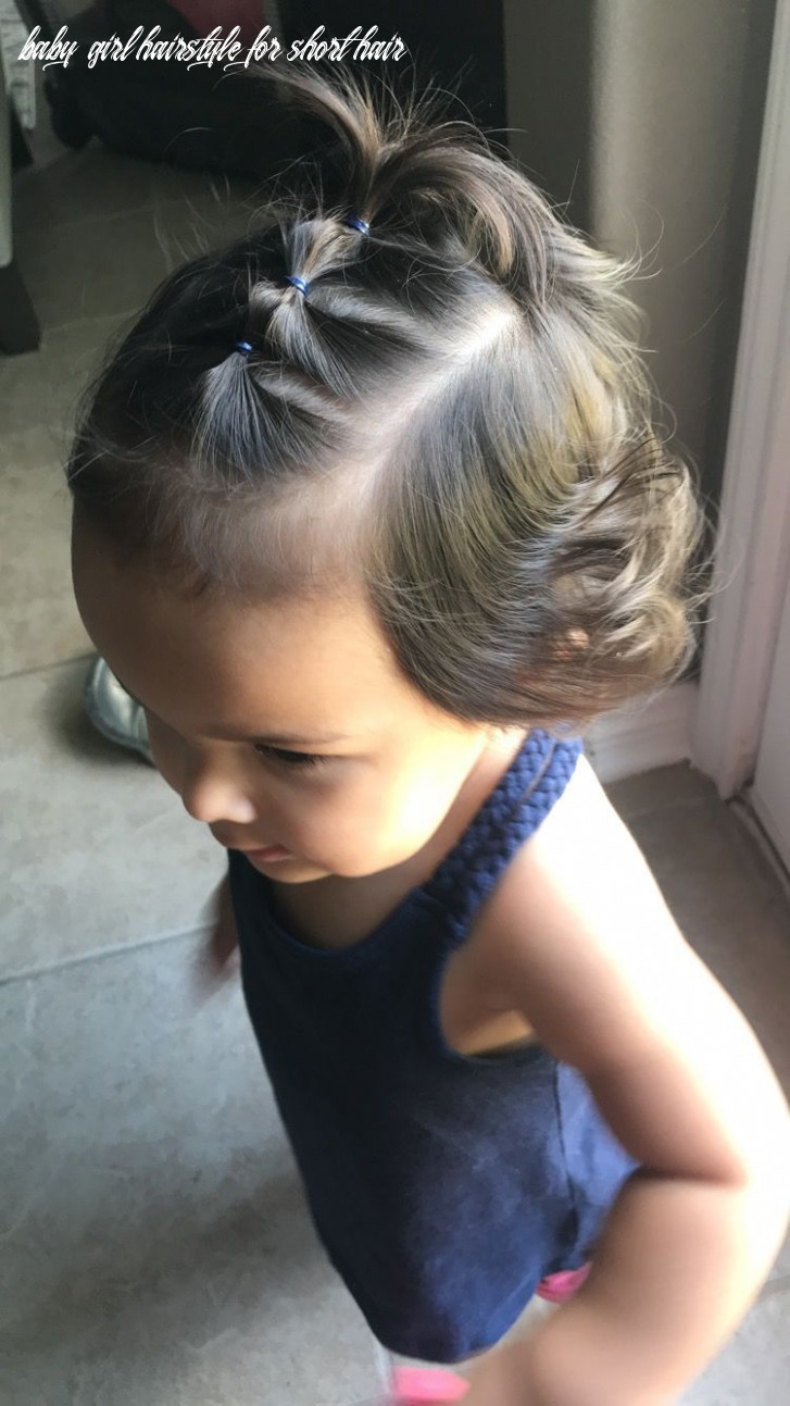 Pin on dream lifestyle baby girl hairstyle for short hair