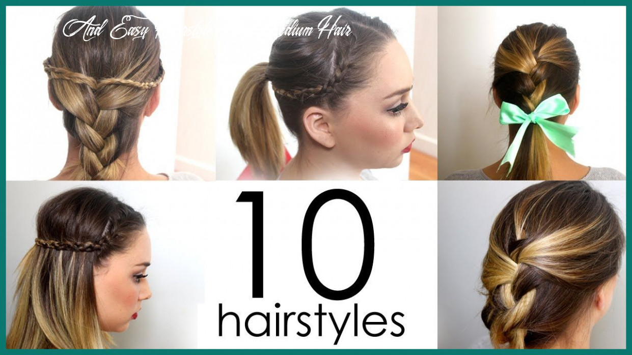 Pin on easy hairstyles quick and easy hairstyle for medium hair