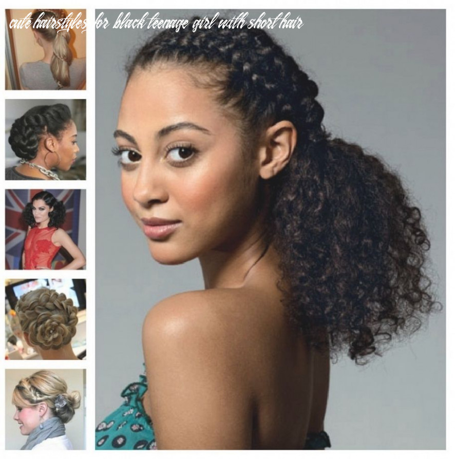 Pin on easy natural hairstyles cute hairstyles for black teenage girl with short hair