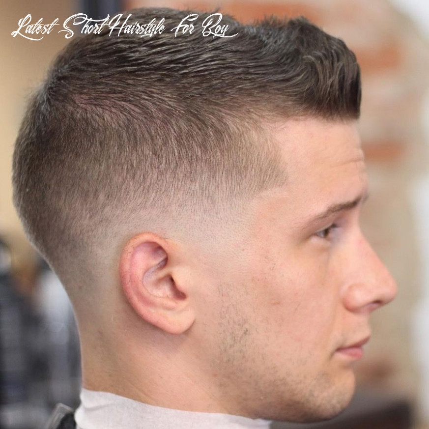 Pin on fashion latest short hairstyle for boy