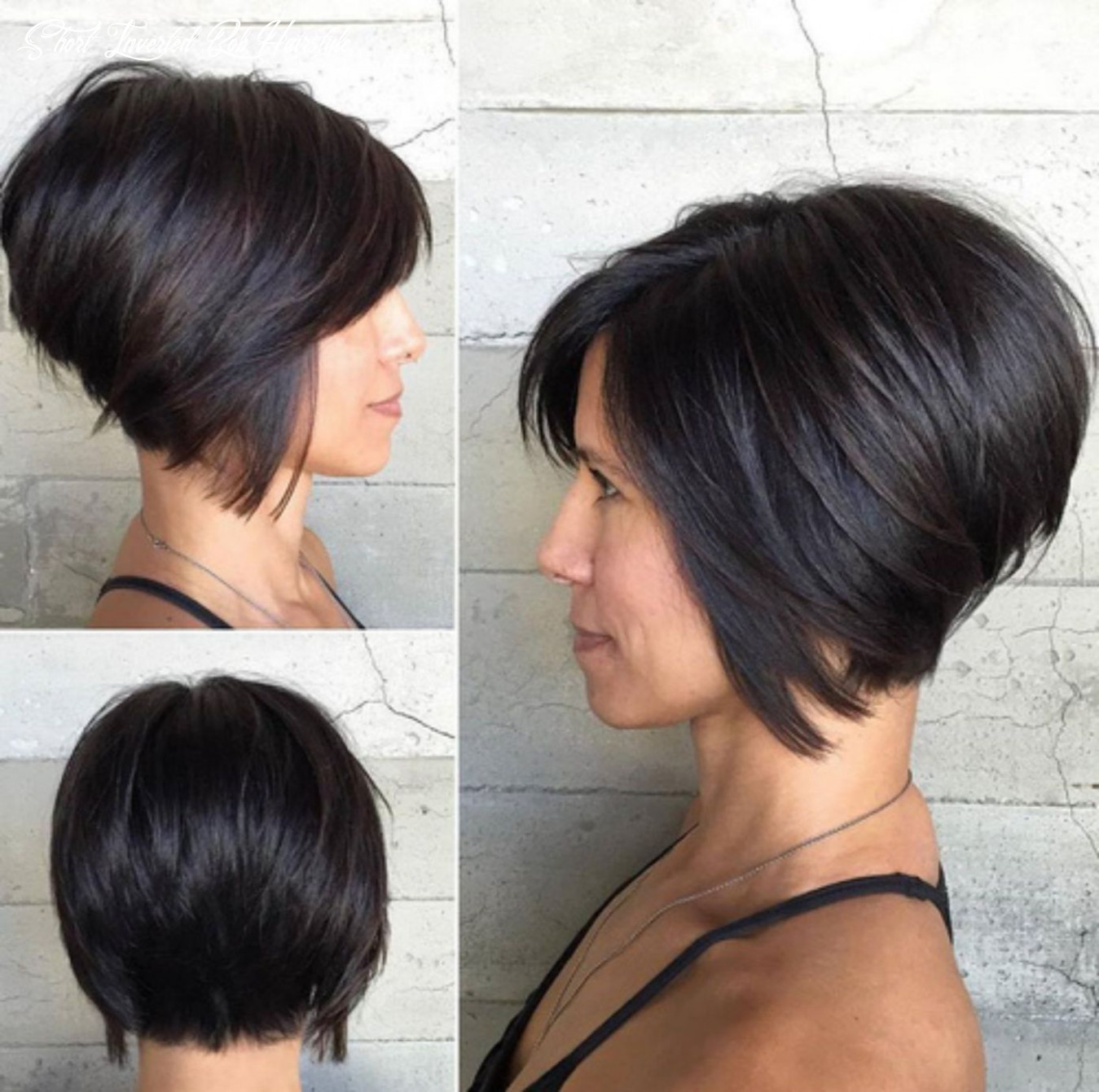 Pin on female hair style short inverted bob hairstyle