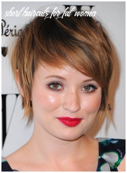Pin on fitness short haircuts for fat women