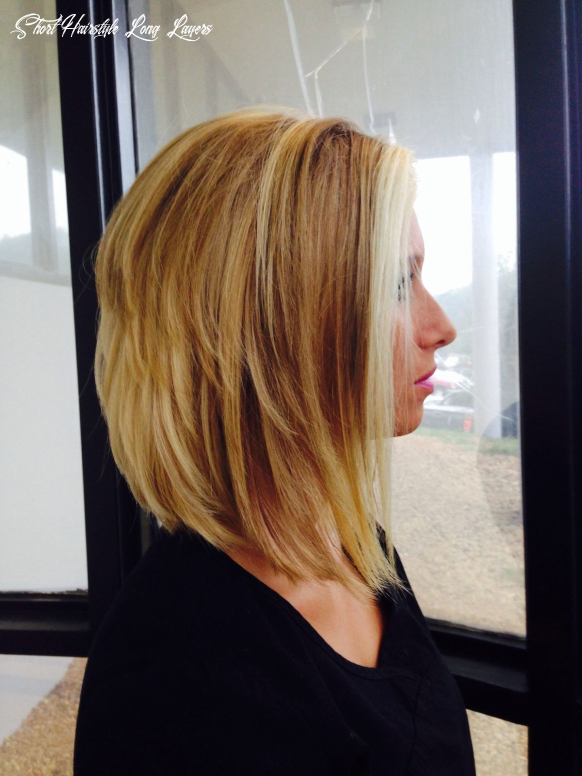Pin on forward flowing layers short hairstyle long layers