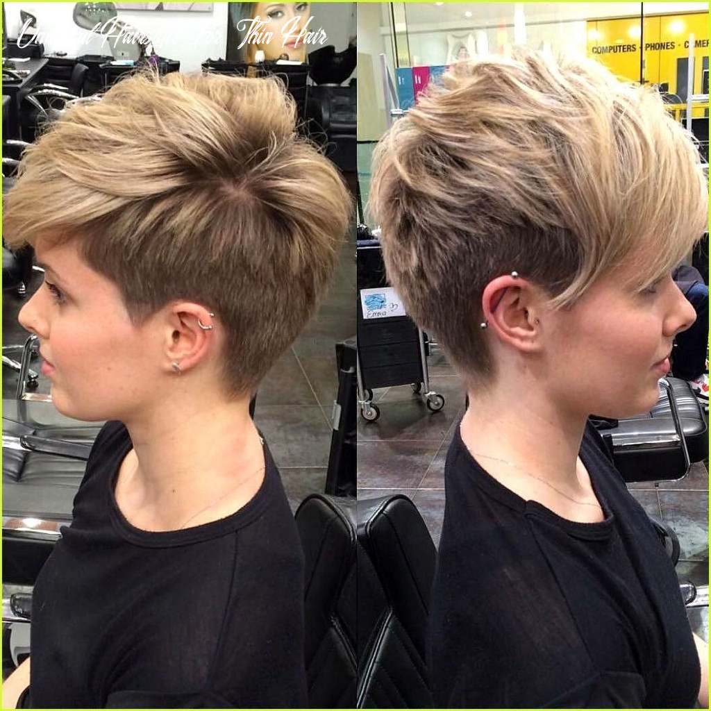 Pin on frisurentrends 11 undercut hairstyle for thin hair