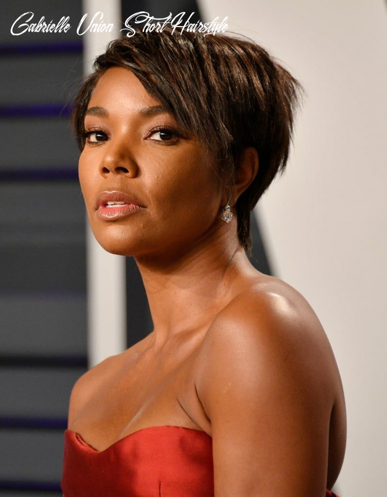 Pin on get yo hair did gabrielle union short hairstyle