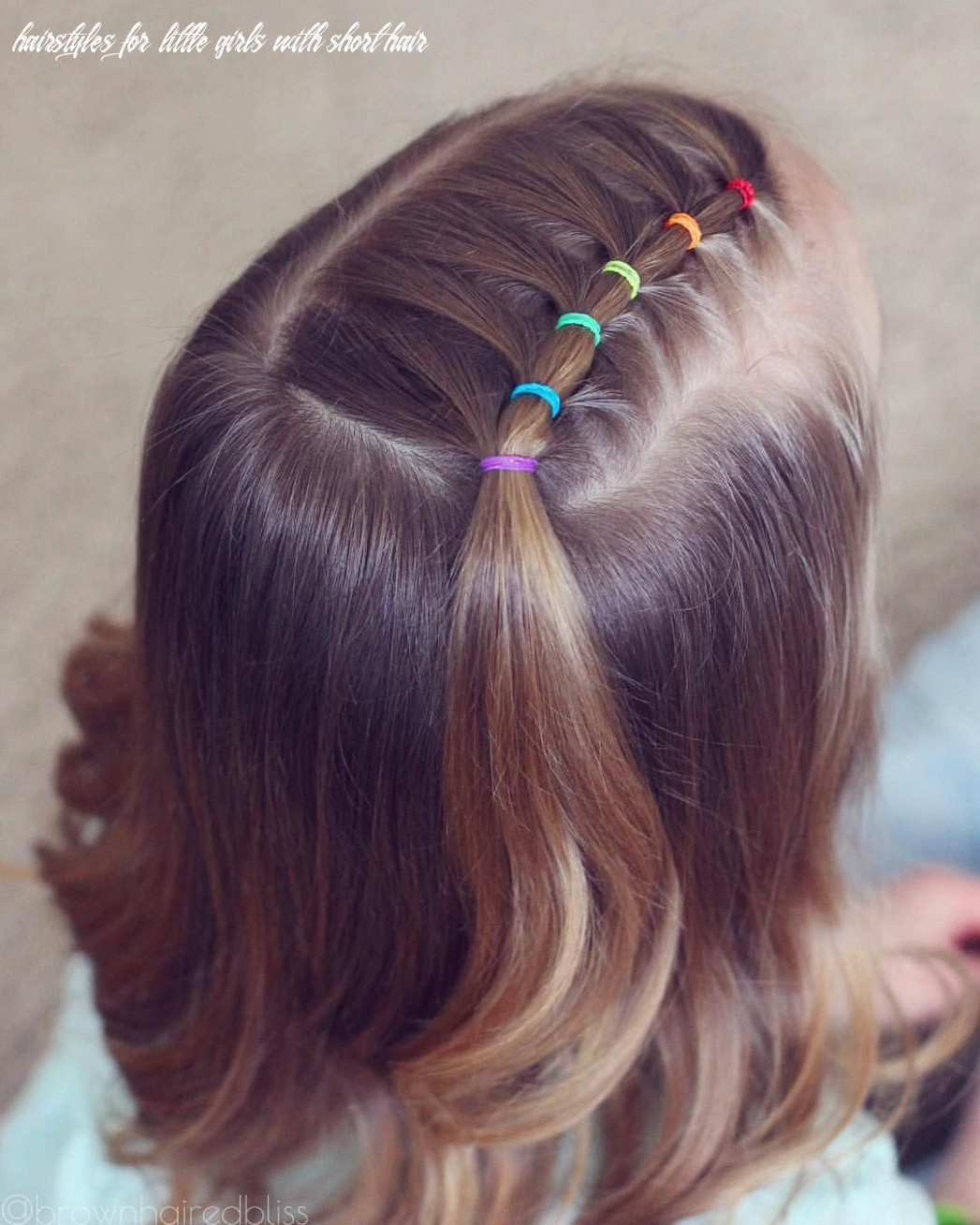 Pin on girls hairstyles easy hairstyles for little girls with short hair