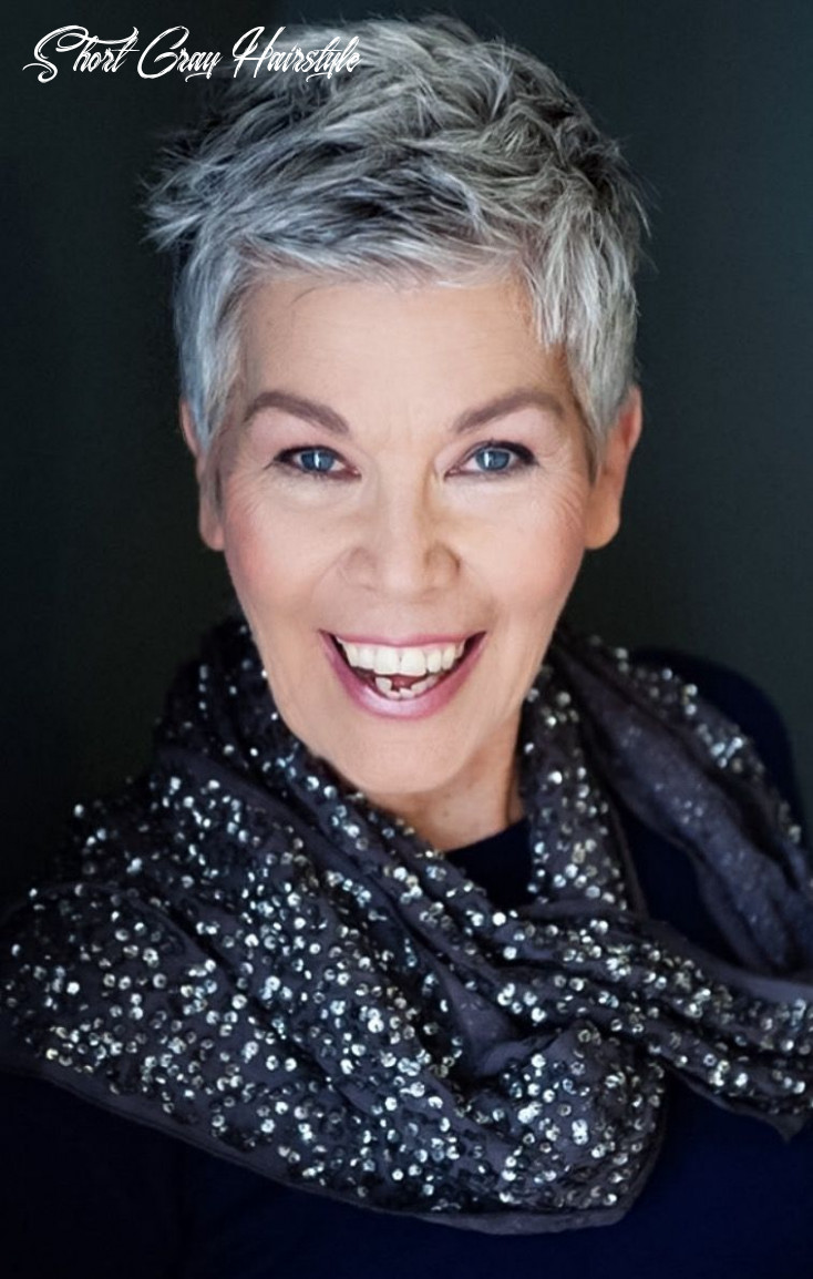 Pin on going gray transition ideas short gray hairstyle