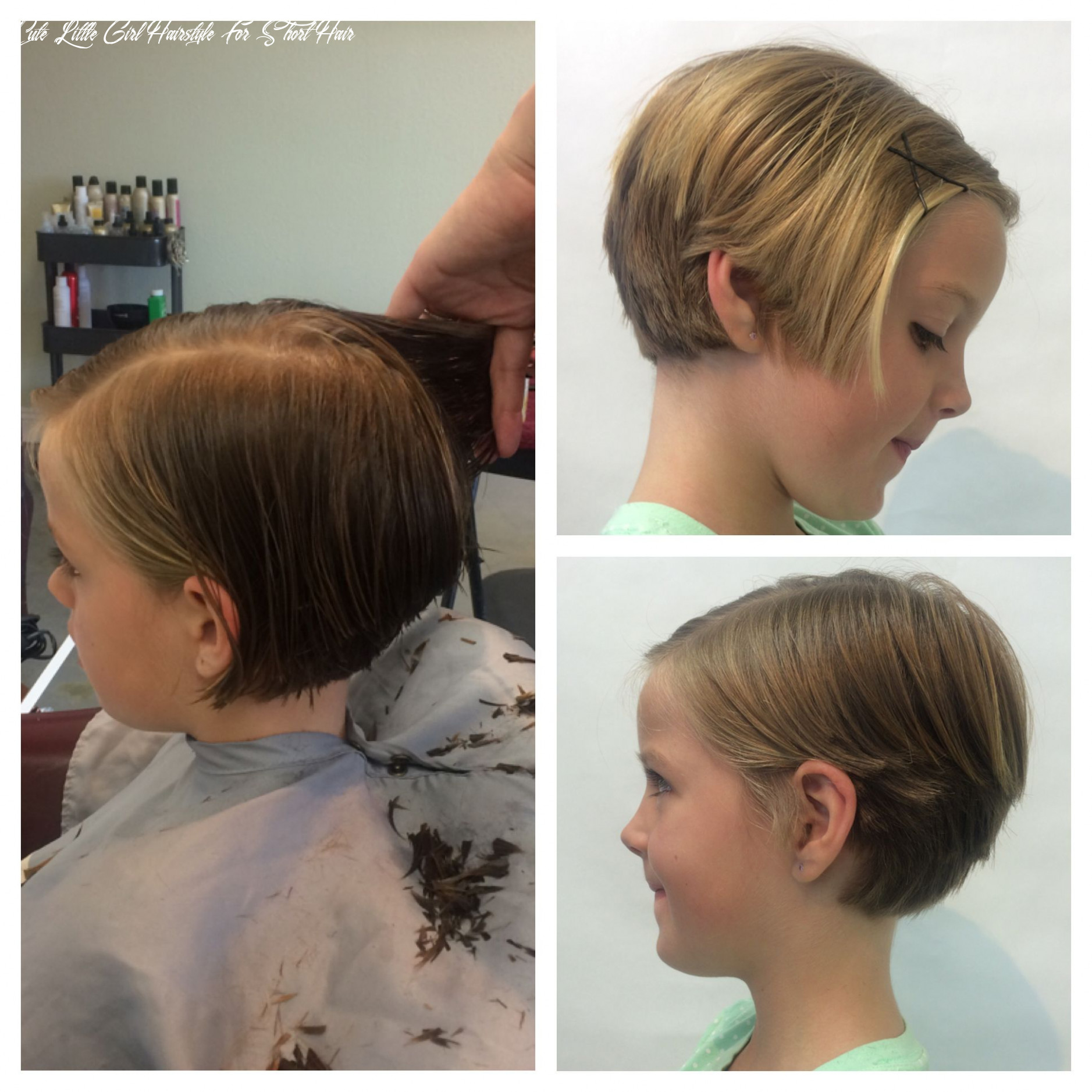 Pin on h a i r cute little girl hairstyle for short hair