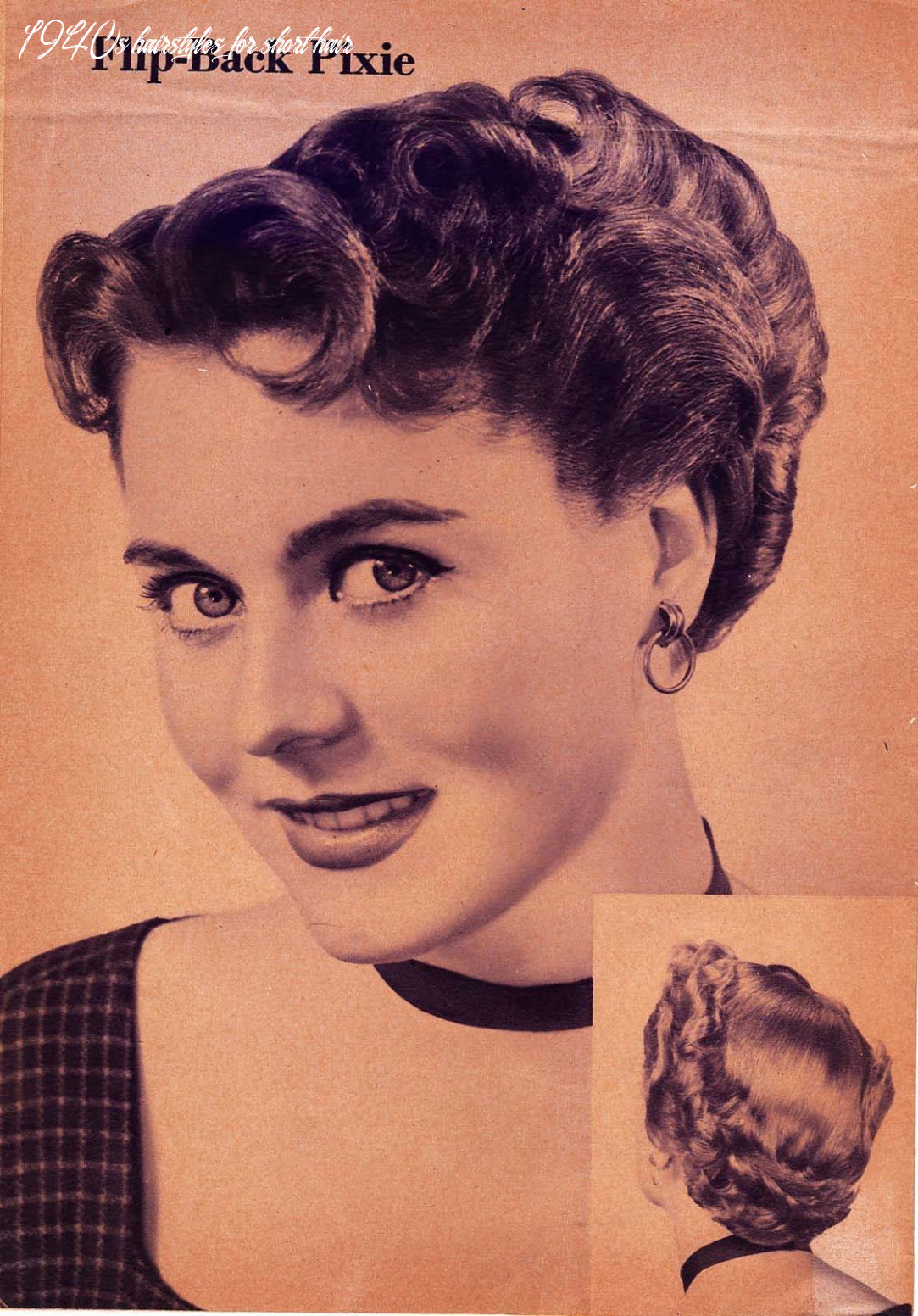 Pin on hair 1940s hairstyles for short hair